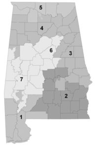 Alabama Congressional Districts 113th Congress