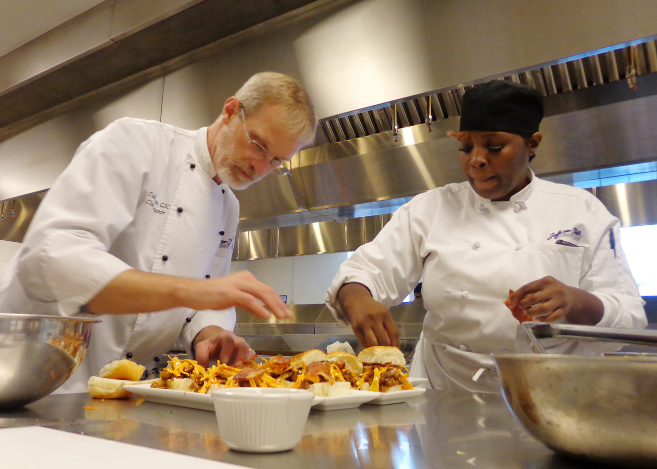 Jeff State Culinary Chefs cooking